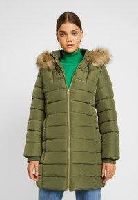 Even&Odd - Classic coat - khaki - 0