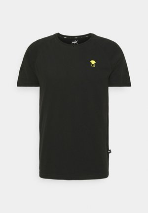 BVB BORUSSIA DORTMUND FTBLFEAT GAME TEE - Club wear - black
