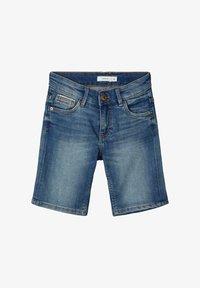 Name it - SLIM FIT - Denim shorts - medium blue denim - 0