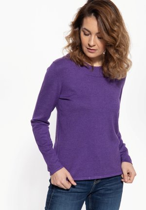 Trui - purpurviolett
