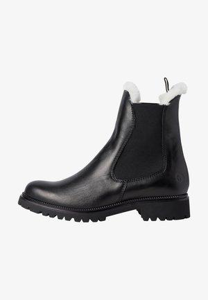Classic ankle boots - black/fur