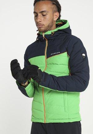 GABINO GLOVE SKI ALPINE - Gloves - black/lime green