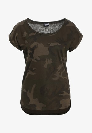 CAMO  - T-shirt imprimé - olive