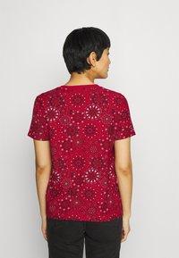 Desigual - LYON - Print T-shirt - red - 2