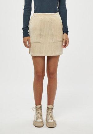 BRITT  - Mini skirt - oyster gray