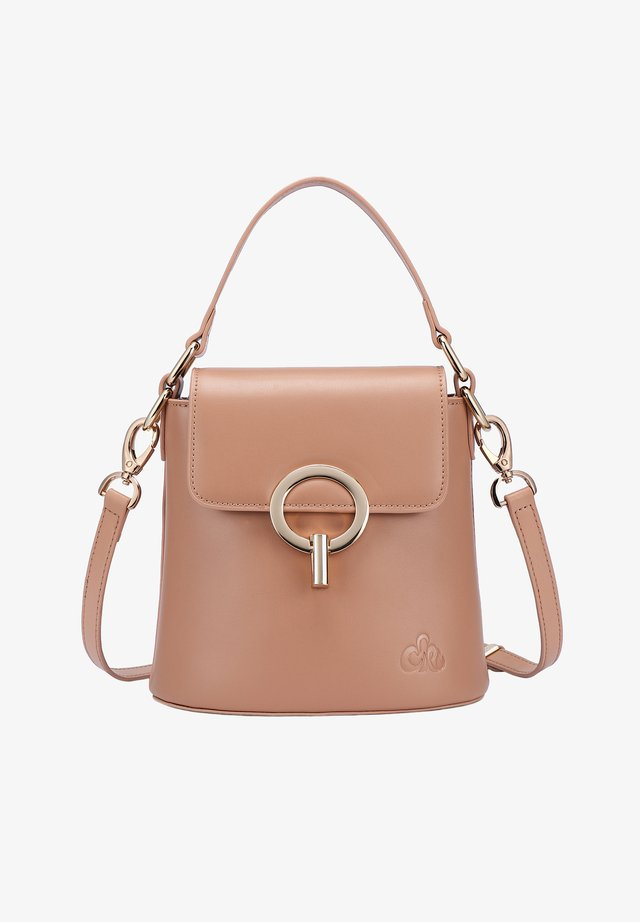 RYAN - Handbag - camel