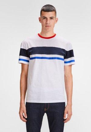 SCHLICHTES REGULAR - Camiseta estampada - white