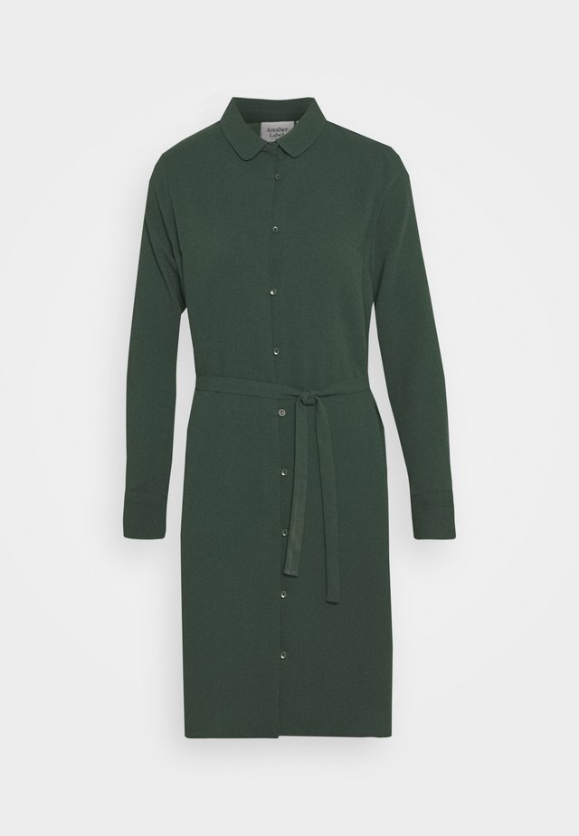 PECK DRESS - Shirt dress - sycamore green