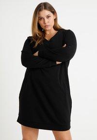 Zizzi - MGUNVUR DRESS - Day dress - black - 0