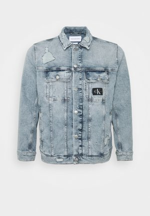 SLIM 90S DENIM JACKET PLUS - Denim jacket - blue