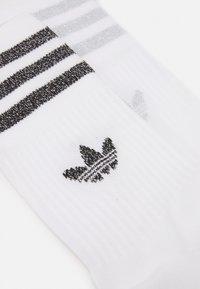 adidas Originals - UNISEX 2 PACK - Skarpety - white/silver - 1