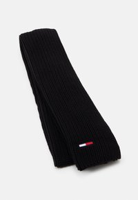 Tommy Jeans - BASIC SCARF BEANIE SET   - Szal - black