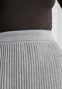 WEEKEND MaxMara - SCILLA - Plisovaná sukně - hellgrau - 4
