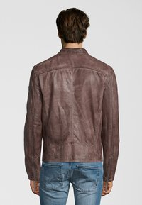 Gipsy - BARNY LAJUV - Leather jacket - dusty brown - 1