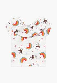Lemon Beret - SMALL GIRLS - T-shirt print - optical white - 0