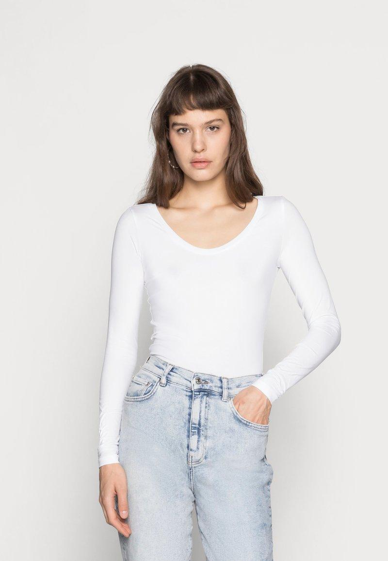 G-Star - BASE - Langærmede T-shirts - white