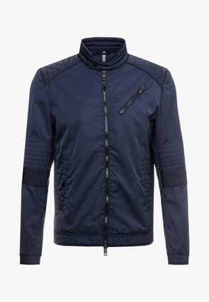 BIKER COAT - Summer jacket - ink blue