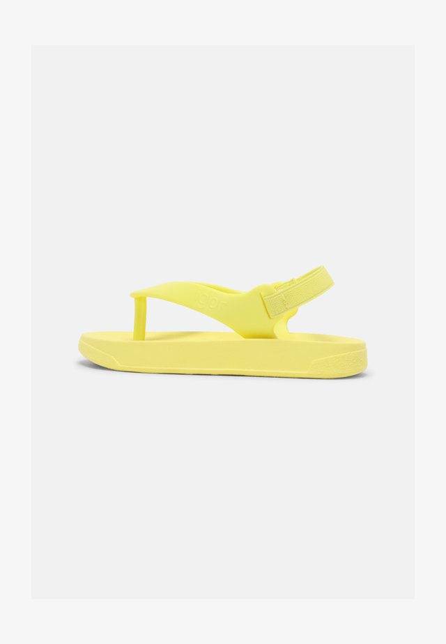 UNISEX - Teenslippers - amarillo