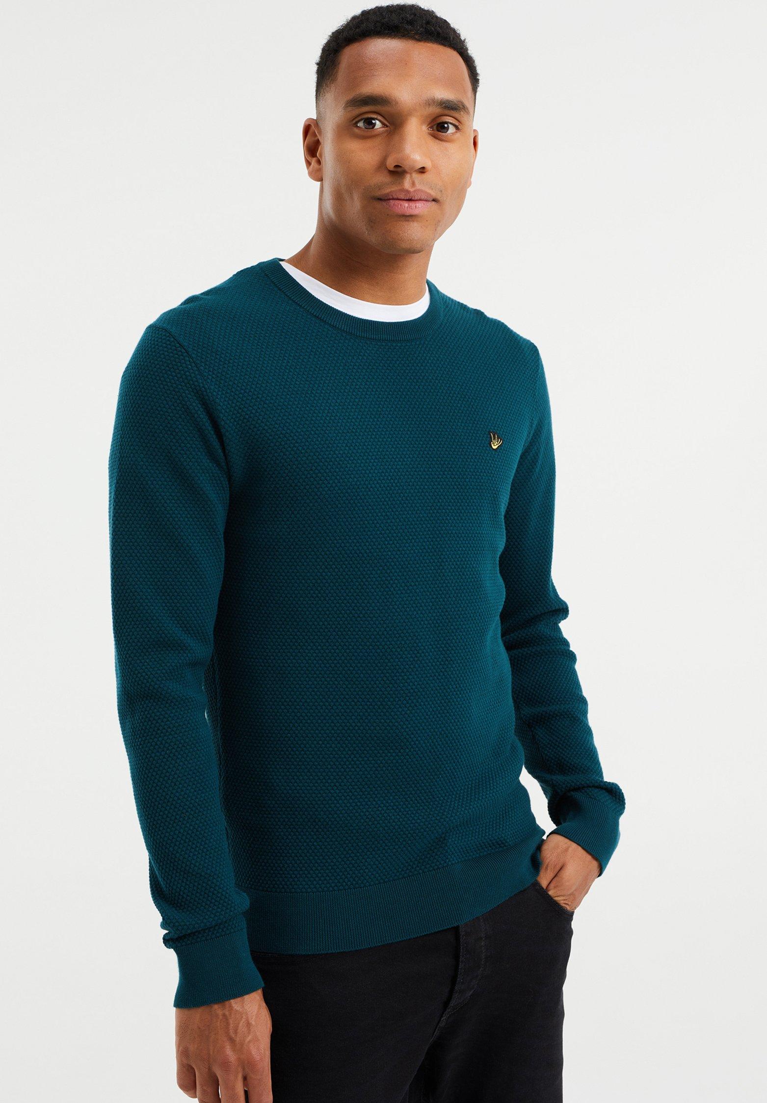 Homme MET STRUCTUUR - Pullover