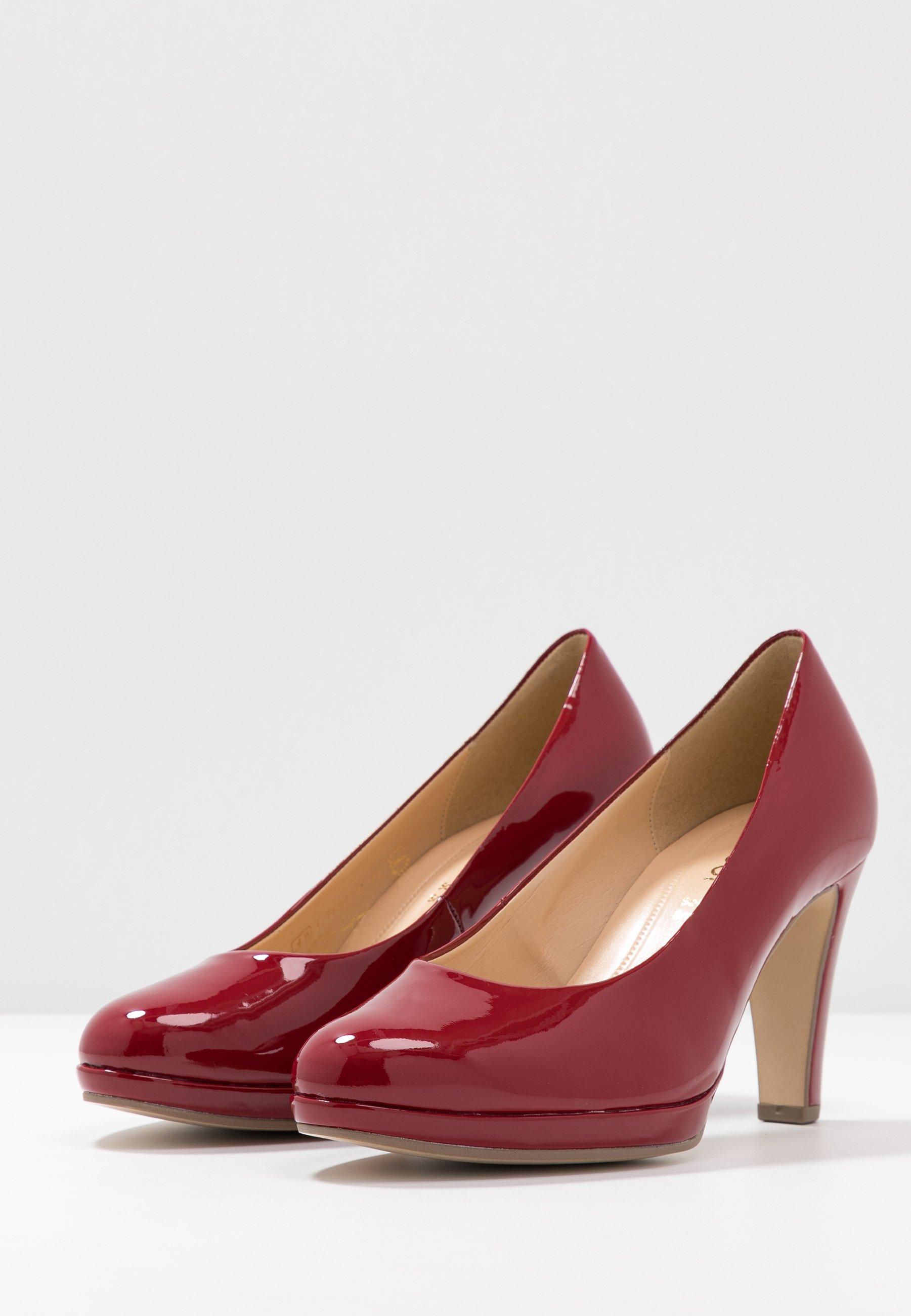 Gabor High Heel Pumps cherry/rot