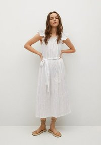 Mango - Day dress - blanco - 0