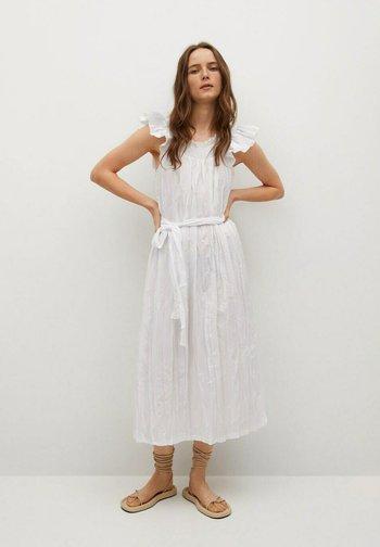 Denní šaty - blanco