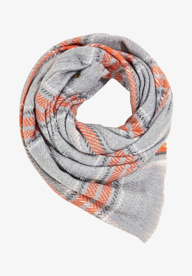 MIT WEB-KARO - Sjaal - medium grey