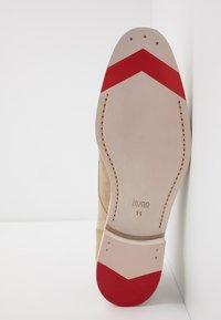 HUGO - MIDTOWN - Smart lace-ups - medium beige - 4