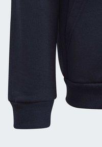 adidas Performance - MUST HAVES FLEECE FULL-ZIP HOODIE - Zip-up hoodie - blue - 4