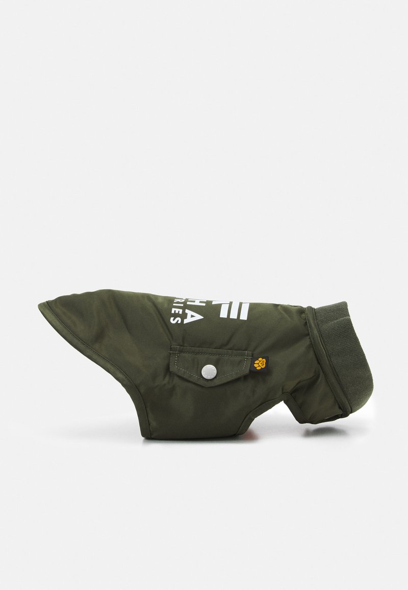 Alpha Industries - MA-1 DOG JACKET BACKPRINT - Other accessories - dark olive