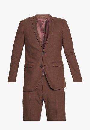 MATTE MIX - Suit - brown
