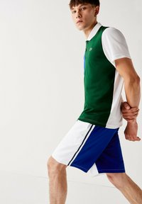 Lacoste Sport - GH2105 - Sports shorts - blanc  bleu - 3