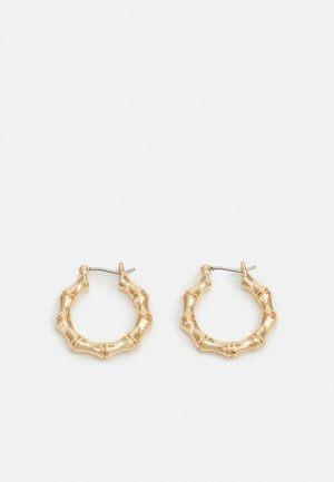 TEXTURED HOOPS - Kolczyki - gold-coloured
