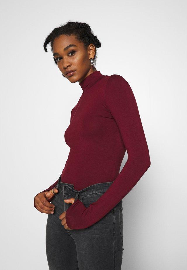 DORSIA - Camiseta de manga larga - cabarnet
