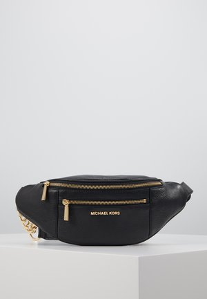 WAISTPACK - Bum bag - black