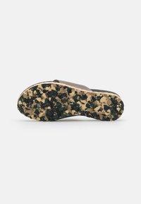 MAHONY - T-bar sandals - bronze - 4