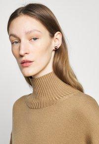 Lauren Ralph Lauren - LOGO STUD - Earrings - gold-coloured/black - 0