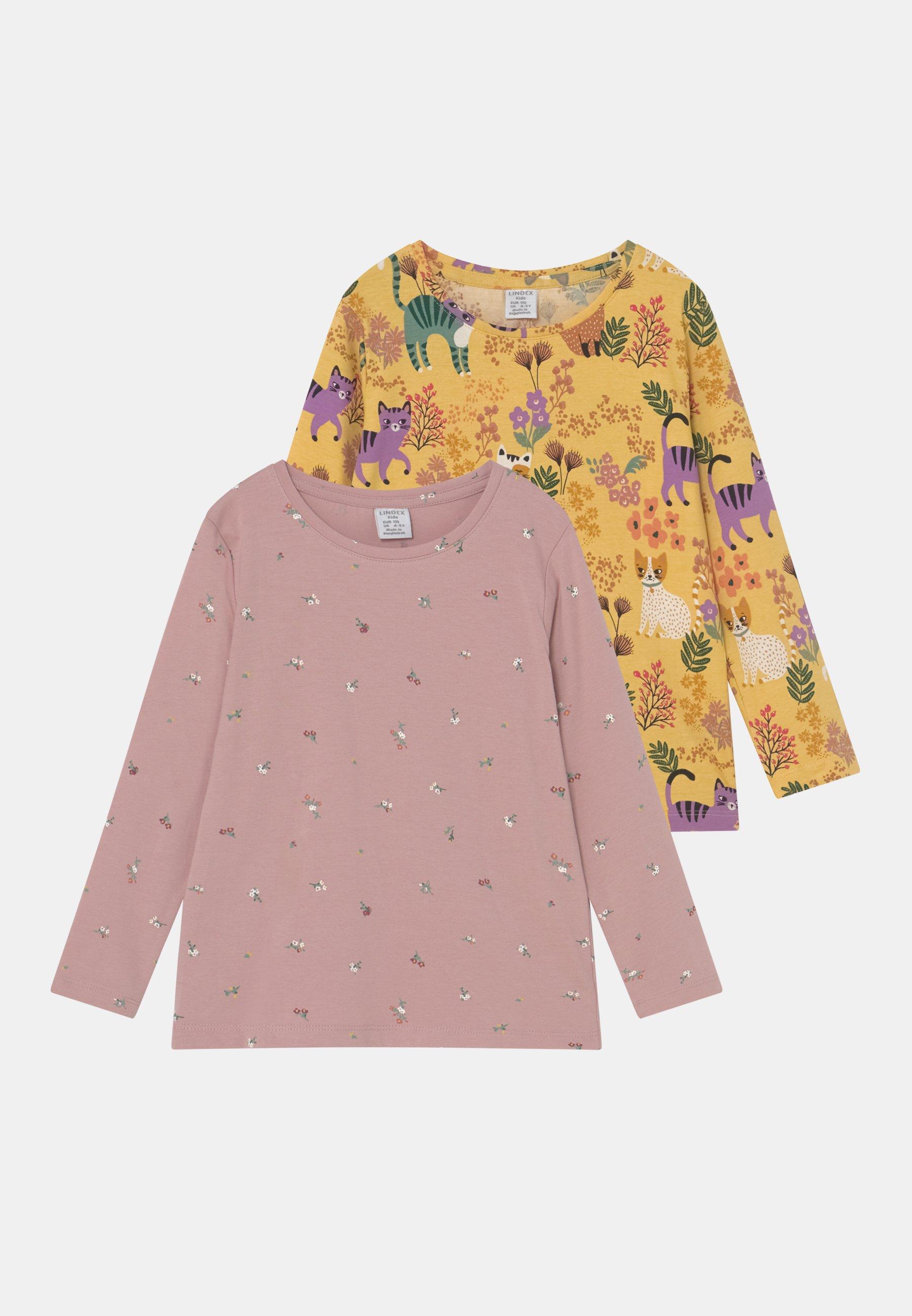 Kids MINI PRINTED 2 PACK - Long sleeved top