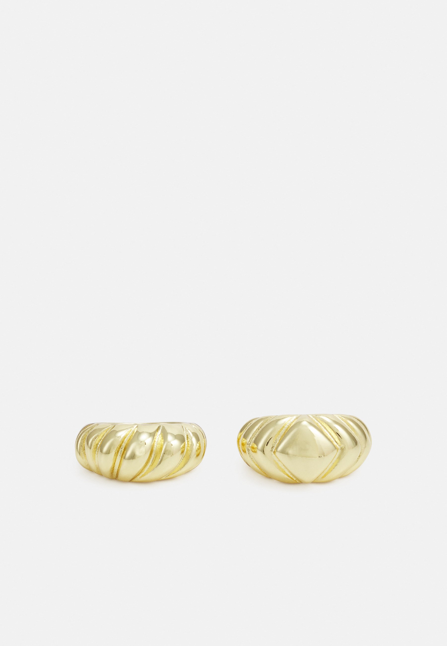 Donna FPPAMELIN GOLD PLATED RINGS ZAL 2 PACK - Anello
