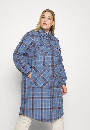 VILEILAH SHACKET - Classic coat - captains blue