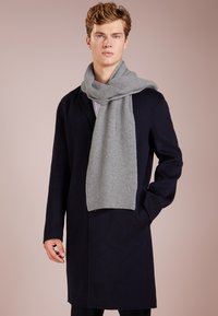 Johnstons of Elgin - RIBBED CASHMERE SCARF - Scarf - grey - 0