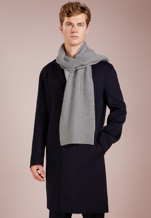 RIBBED CASHMERE SCARF - Scarf - grey