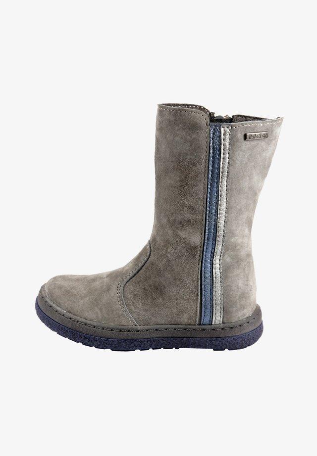 MIT REISSVERSCHLUSS - Boots - grey