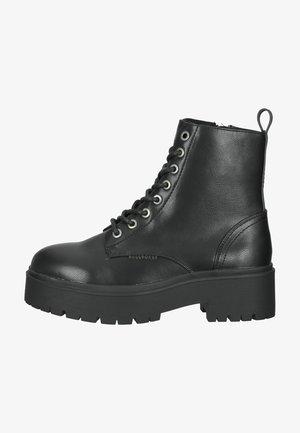 Platform ankle boots - black blck