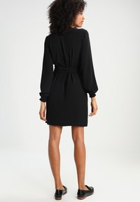Kaffe - BLAKE WRAP DRESS - Day dress - black deep - 3