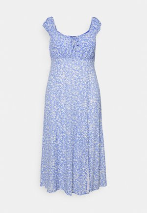 ELISE MIDI SUN DRESS - Day dress - light blue