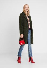 Q/S designed by - Winter coat - dark olive - 1