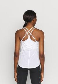 Nike Performance - ONE BREATHE TANK - Top - white/black - 2