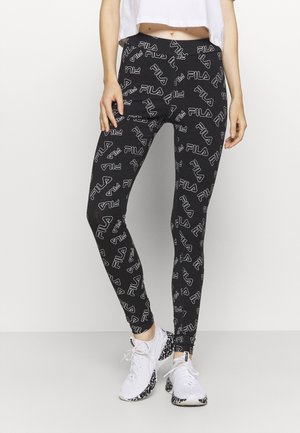 ALEXANDRIA - Leggings - black