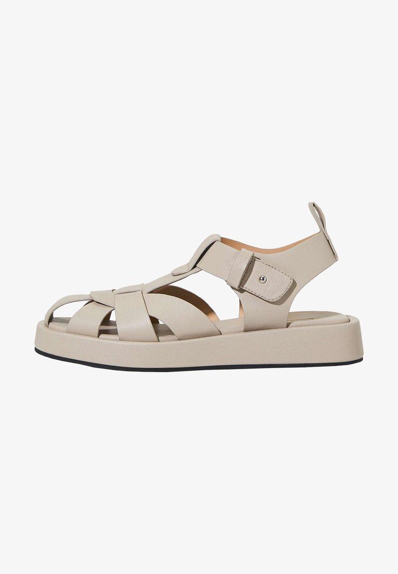 OYSHO - Sandals - beige